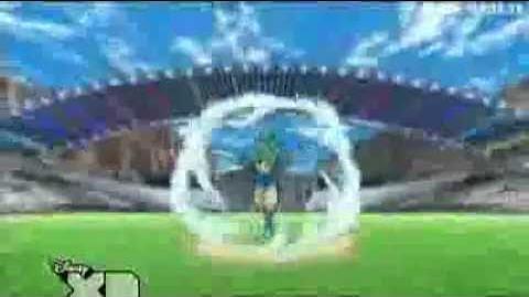 Inazuma Eleven - El Huracán V S Golpes De Luz