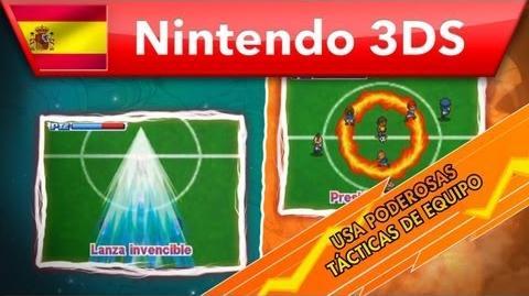 Inazuma Eleven 3 Fuego explosivo Rayo celeste - Supertécnicas (Nintendo 3DS)