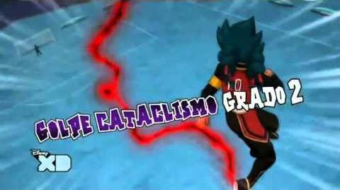 Inazuma Eleven GO Chrono Stone Golpe Cataclismo Grado 2