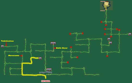Mapa Bosque Fuji (Fichaje Ruta 5)