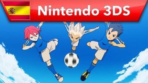 Inazuma Eleven 3 Fuego explosivo Rayo celeste - La historia (Nintendo 3DS)