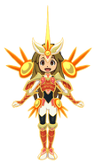 Goldie (Artwork Armadura Amaterasu)