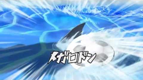 Inazuma Eleven Strikers - Megalodon