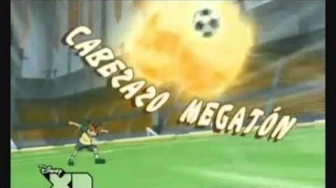 Inazuma eleven Cabezazo Megatón(Ataque)