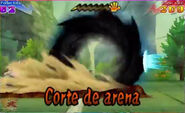 Corte de arena 3DS 9
