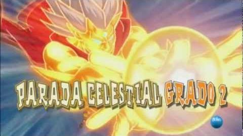 Inazuma Eleven. Parada Celestial Grado 2