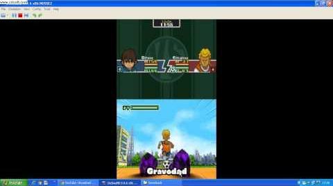 Inazuma Eleven 1 DS (Gravedad)