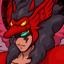 Archipegaso Rojo EG Sprite