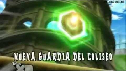 Inazuma Eleven Pinguino Emperador N3 Y Torbellino De Fuego 2 VS Nueva Guardia Del Coliseo