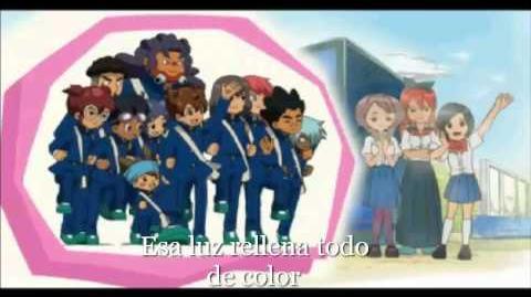 Opening en Español con letra Inazuma Eleven GO LUZ 3DS