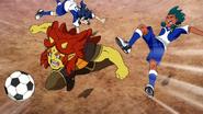 Tsurugi and Zanakurou injured Galaxy 23 HQ