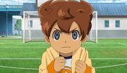 Arion de pequeño intentando entrar en el club de futbol
