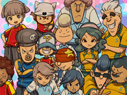 Inazuma Kids, Umbrella y las Sallys (IE 3 Ending)