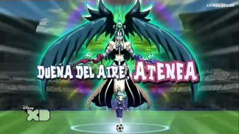 Inazuma Eleven GO Chrono Stone Dueña del Aire, Atenea Armadura-0