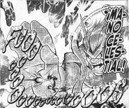Mano Celestial manga