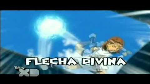 Inazuma Eleven Flecha Divina