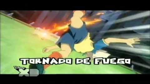 INAZUMA ELEVEN ESCUDO DE FUERZA