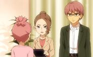 Nozaki y sus padres