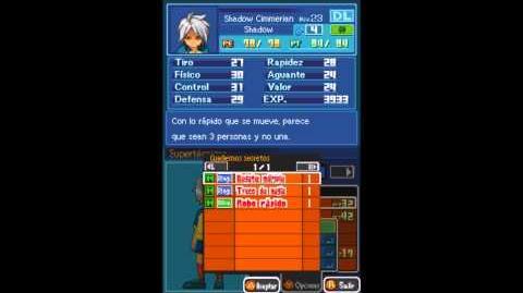 Inazuma eleven 1 DS español como conseguir regate múltiple