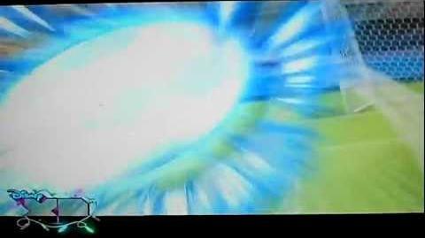 Inazuma Eleven - Tiro a Reaccion vs Mano Espiritual Grado 2-0