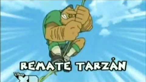 Inazuma eleven remate tarzan