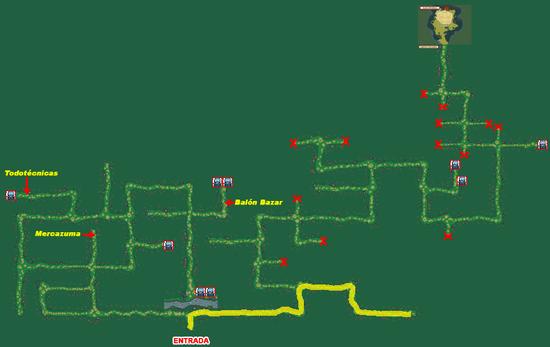 Mapa Bosque Fuji (Fichaje Ruta 7)