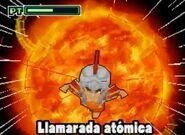 Llamarada atómica ds