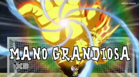 Inazuma Eleven GO Chrono Stone Mano Grandiosa