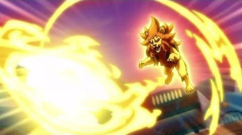 Inazuma Eleven GO Galaxy Episode 23 イナズマイレブンGO ギャラクシー 23 Soul Lion ソウル ライオン HD