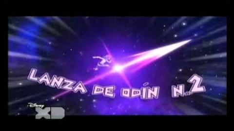 Inazuma eleven lanza de odin nivel 2