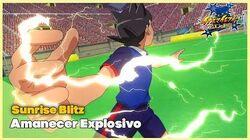 Sunrise Blitz Amanecer Explosivo Inazuma Eleven - Orion no Kokuin