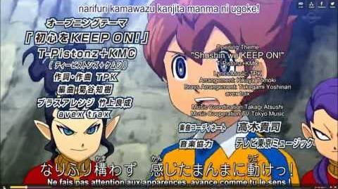 Inazuma Eleven GO Chrono Stone Opening 3 VOSTFR
