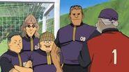 Seymour con los veteranos