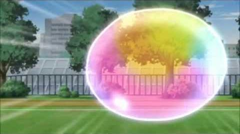 Inazuma Eleven Go Rainbow Bubble Shot