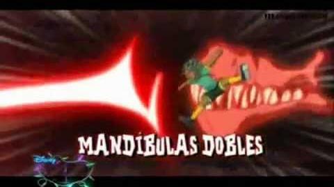 Inazuma Eleven - Mandibulas Dobles VS Parada Celestial Incompleta