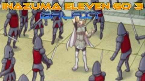 Inazuma Eleven Go 3 Galaxy Walkthrough Episode 14 (After Game) Tale of Knights