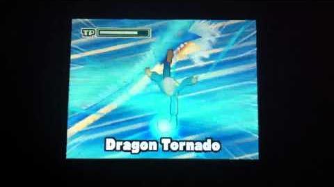 Inazuma eleven Nds Dragon Tornado