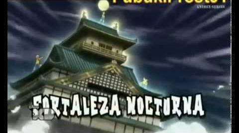**Inazuma Eleven GO Chrono Stone- Orden de tiro 08 vs Fortaleza Nocturna**