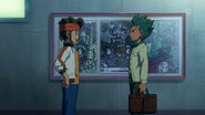 Endou and Ichikawa talking Galaxy 19 HQ