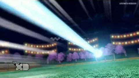 Inazuma Eleven GO CS Mixi-Max Nobunaga-Riccardo Impulso Efímero