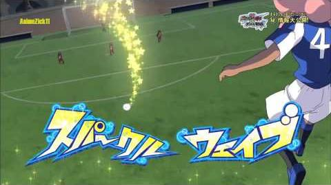 Inazuma Eleven GO vs Danball Senki W - Sparkle Wave スパークルウェイブ HD