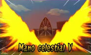 Mano celestial V 3DS