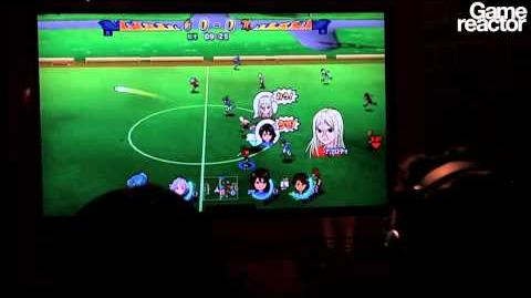 TGS 10 Inazuma Eleven Strikers Gameplay