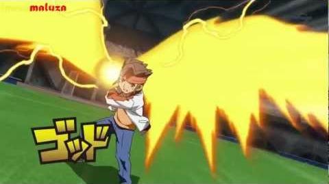 Inazuma Eleven GO Chrono Stone God hand V