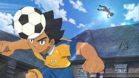 Inazuma Eleven GO Dash Train Hissatsu (HD)