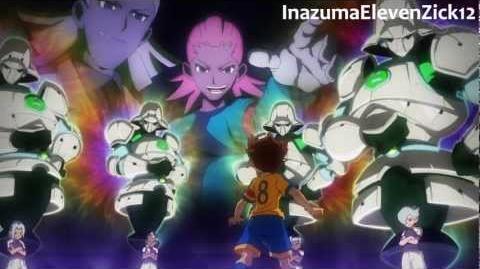 Inazuma Eleven GO イナズマイレブンGO - Seieihei Pawn x4 精鋭兵ポーン x4 HD