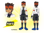 Endou in Inazuma Legend Japan