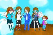 La vida de Hanako y Hikaru