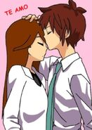 Handa y Himeko Go kiss by Luka forever