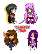 Tsundere team collab my part by madamnegra-d9l1kme